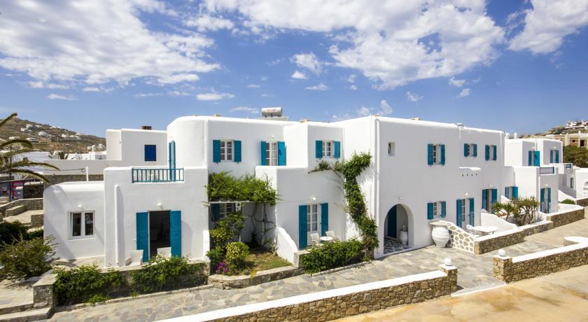 Cyclades Studios 3* / Elefteria Apartments 3*